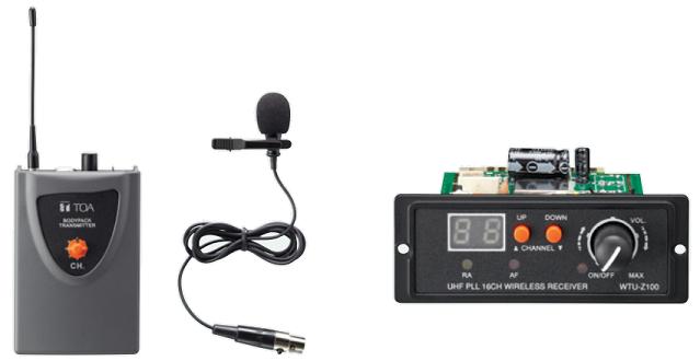 Bộ micro không dây TOA WS-Z100L SE1AS chính hãng