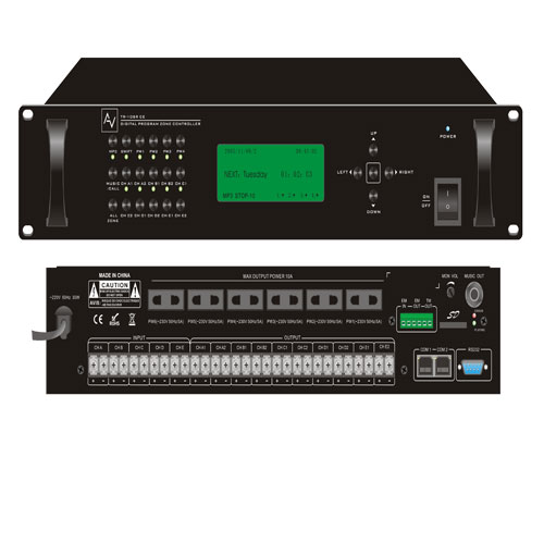 Digital 10 Zone Weekly Timer AV TR-10SR CE