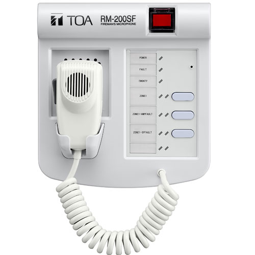 Micro Báo Cháy TOA RM-200SF hệ thống âm thanh trong văn phòng làm việc