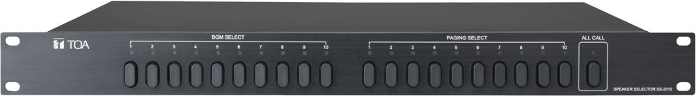 Bộ Lựa Chọn Vùng Loa TOA SS-2010 AS hệ thống âm thanh trong văn phòng làm việc