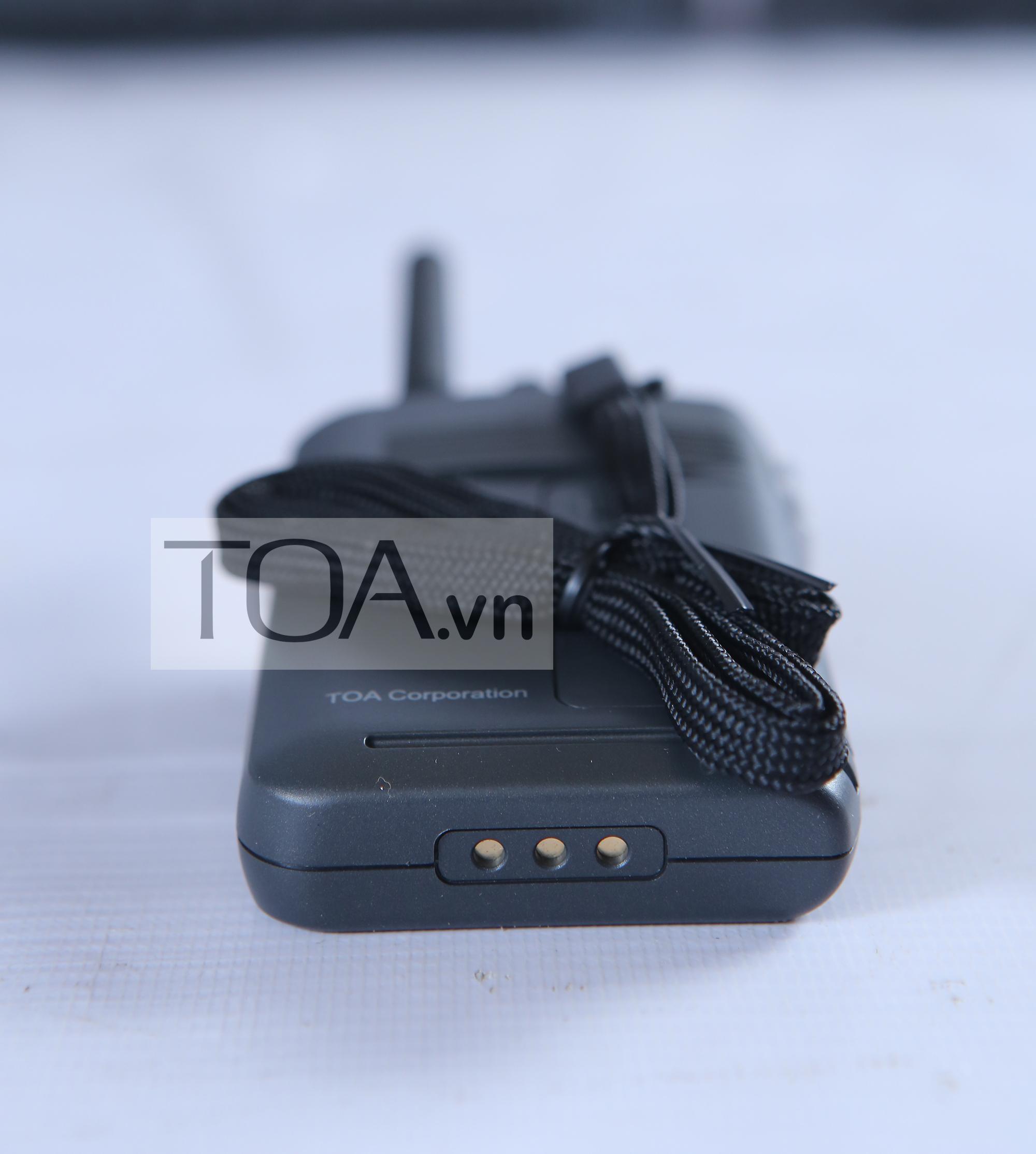 Hướng dẫn sử dụng máy bộ đàm không dây TOA WM-2100