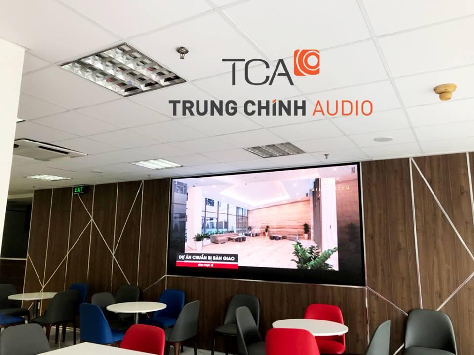 hệ thống âm thanh trong văn phòng công ty CPXD Thiên Minh